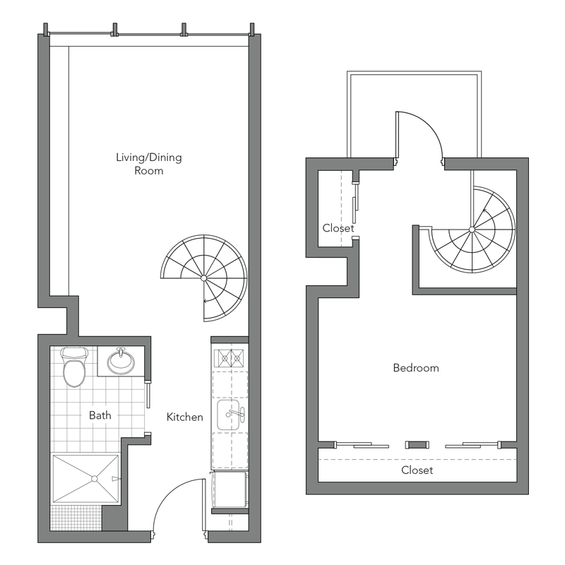 Apartment Floor Plans - Frequency Apartments